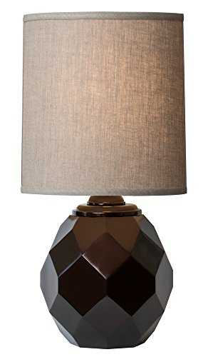 Thumprints 1206-ASL-2140 Espresso Table Lamp, Gloss Bronze Finish