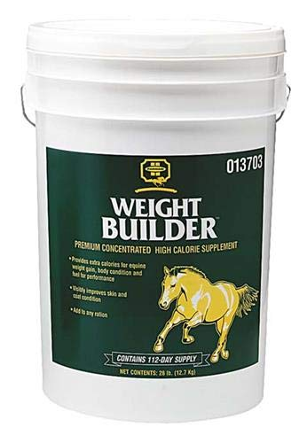 Farnam Weight Builder Premium Concentrated Feed Supplement, 28 lbs