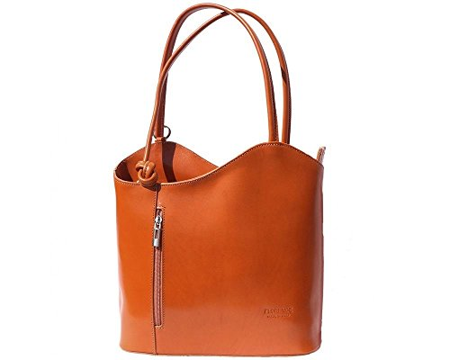 Florence Leather 207 - Bolso mochila  para mujer marrón canela