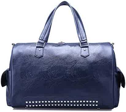 KHDRVJ Outdoor Waterproof Large Capacity Gym Bag Men Women Portable Fitness Training Bag Soft Foldable Shoulder Travel H Bag
