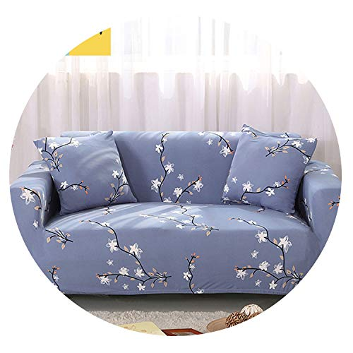 Plain Sofa Cover Elastic Slipcover Stretch Furniture Covers Protector Sofa Covers for Living Room Couch Covers,6,1 Seater