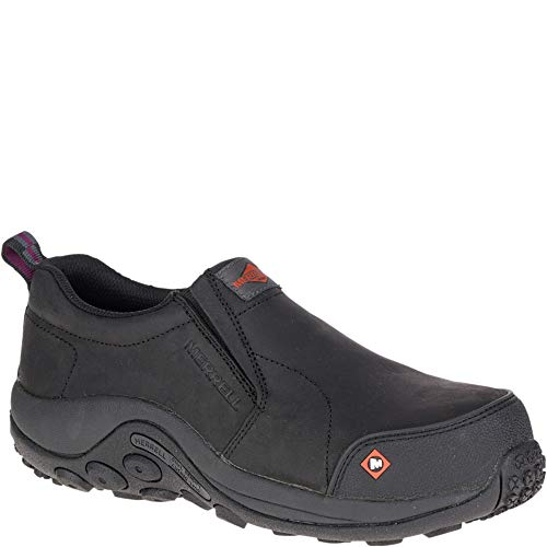 Merrell Jungle Moc Comp Toe Work Shoe Women 8.5 Black ()