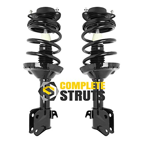 Front Quick Complete Struts & Coil Spring Assemblies Compatible with 2009-2013 Subaru Forester (Pair)