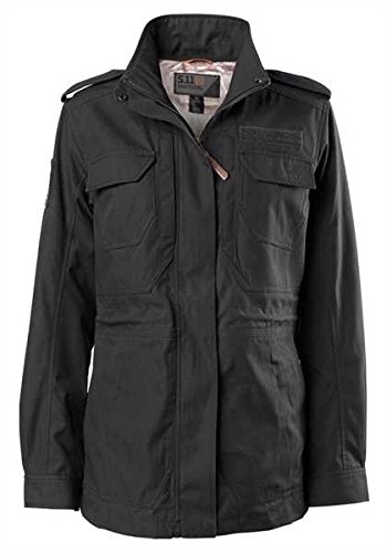 5.11 Tactical Women's Taclite M-65 Waterproof Jacket, UPF 50, Poly-Cotton Fabric, Style 68000]()