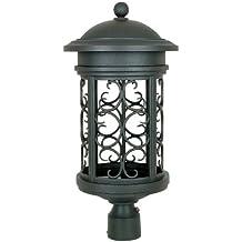 Designers Fountain 31136-ORB Ellington-DS Post Lanterns, Oil Rubbed Bronze
