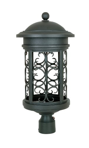 Designers Fountain 31136-ORB Ellington-DS Post Lanterns, Oil Rubbed Bronze (Outdoor Lamp Post Oil Rubbed)