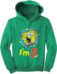 Tstars Official Spongebob - 5th Birthday I'm 5 Toddler Ho