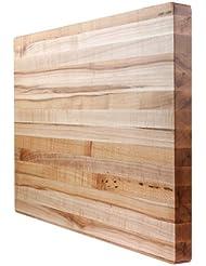 Kobi Blocks Maple Edge Grain Butcher Block Wood Cutting Board 29 X 29 X 1 5