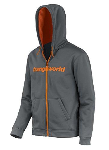 Chaqueta TRANGOWORLD Hombre medio Ripon gris naranja f5FP6v5xwq