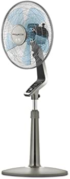 Rowenta VU5551 Turbo Silence 4-Speed Oscillating Pedestal Fan