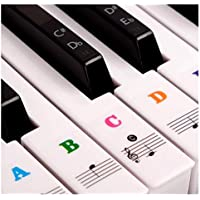 Piano Stickers for Keys - Color Piano Keyboard Stickers...