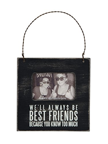 Primitives by Kathy Mini Box Frame, 4.5 x 4.5-Inches, We'll We'll Always Be Best Friends