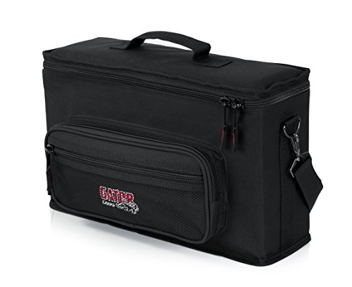 Gator Cases Padded Microphone Carry Bag; Holds (2) Wireless Microphone Systems (GM-2W)
