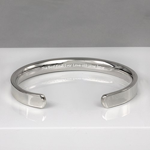 1a7ec1387c7d9 Image Unavailable. Image not available for. Color  Mens Chunky Silver Cuff  Bracelet