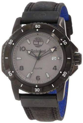 3 Hands Date Watch - Timberland Unisex TBL_13327JSB_61 Charlestown Analog 3 Hands Date Watch