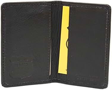 ASHLIN RFID Blocking Business Card Case - Tuscany Leather - 2+1 card pockets[RFID701-18-01]