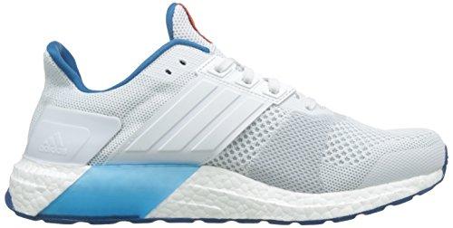 adidas Ultra Boost St M, Zapatillas de Running para Hombre Blanco (Ftwbla / Ftwbla / Chiart)