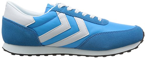 Hummel Seventyone Lo Unisex-erwachsene Low-top Blau (methyl Blue 7672)