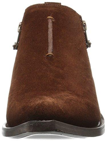Frye Dame Sacha Moto Cowboy Stiefel Brun JrR1X