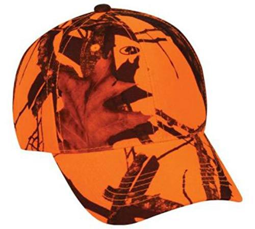Mossy Oak Youth Camouflage Hunting Hat Blaze Orange Kids Cap by Mossy Oak