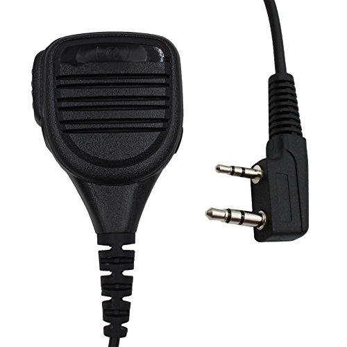 Tenq Waterproof Rainproof Shoulder Remote Speaker Mic Microp