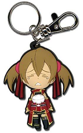 Sword Art Online Crying Silica Sd Pvc Llavero: Amazon.es ...