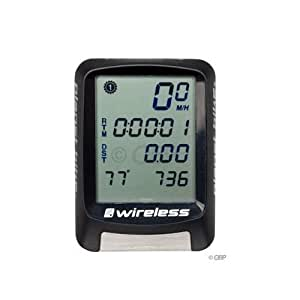 Planet Bike Protege 9.0 Wireless 9-Function Bike Computer with 4-Line Display and Temperature by Planet Bike