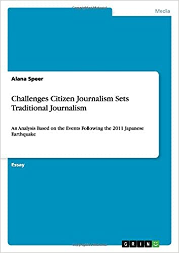 Book Challenges Citizen Journalism Sets Traditional Journalism