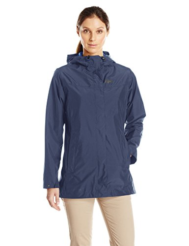 Helly Hansen Packable Jacket - Helly Hansen Women's Lynwood Jacket Waterproof Breathable Rain Coat, 689 Evening Blue, Large