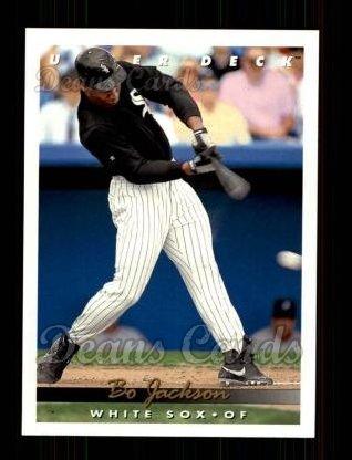 Amazoncom 1993 Upper Deck 775 Bo Jackson Chicago White Sox
