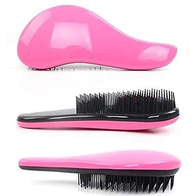 Art Naturals Detangling Hair Brush Set (Pink and Black)