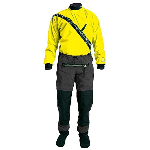 Kokatat Men's GORE-TEX Front Entry Drysuit-Yellow-S