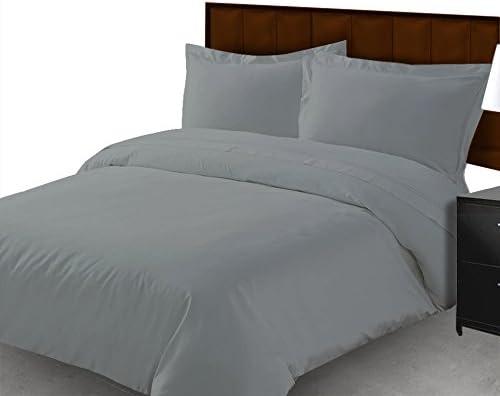 800 hilos 100% algodón egipcio 4 piezas Juego de sábanas + 1 hoja ...