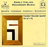 Seicento: Early Italian Recorder Music 'Vier op 'n Rij' by Rene Gailly (Bel)