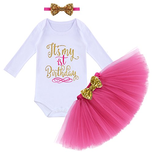 It's My First 1st Birthday Outfit Baby Girls
