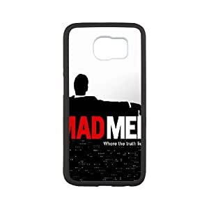 Mad Man Samsung Galaxy S6 Cell Phone Case White DIY Gift xxy002_5183573