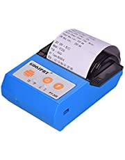 Decdeal Wireless BT 58mm Receipt Thermal Printer Mini Personal Bill Printer Compatible with ESC/POS Print Commands Set for iOS Android Windows for Restaurant Supermarket Retail Store Business