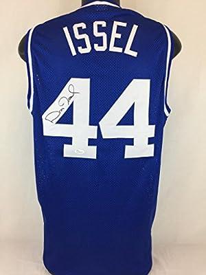 Dan Issel Signed Jersey Autographed Kentucky Wildcats Autograph Auto Jsa Coa