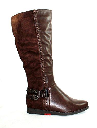 MODELISA Zh56, Damen Stiefel & Stiefeletten , braun - braun - Größe: EU 39