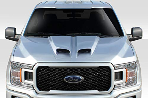 Duraflex Replacement for Universal Feed Dual Ram Air Hood Scoop ()