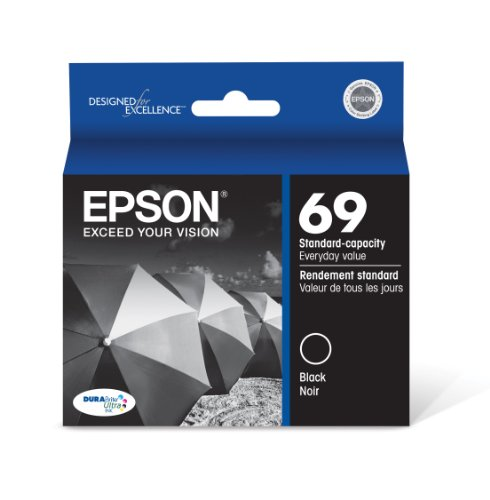 Epson T069120 DURABrite Ultra Black Standard Capacity Cartridge Ink