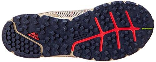 Montrail Mujeres Skyraid Trail Corriendo Zapato Pebble / Nocturne