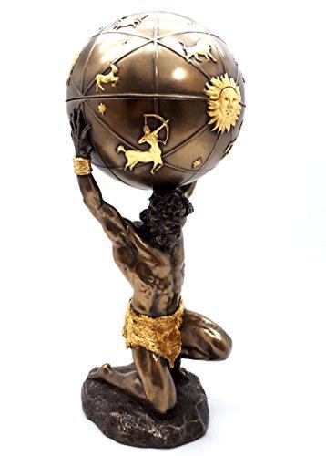(Veronese Atlas Titan Celestial Sphere Greek God Statue Sculpture Figure Bronze Finish 12.8΄΄)