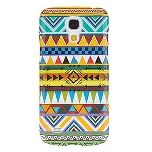 ZCL-Gorgeous Weaving Modelo del paño de algodón protector duro Volver Funda para el Samsung Galaxy S4 Mini I9190