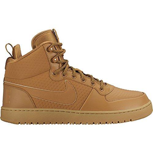 Nike Light Borough Multicolore Hautes wheat 700 Court Winter gum Homme Baskets wheat Brown Mid black 44rFaxA