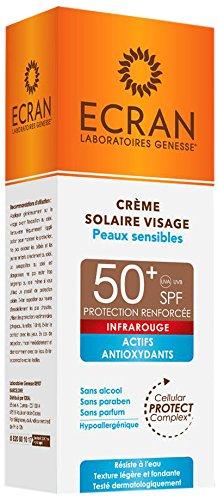 MlAmazon Ecran Pour Sensible Solaire Crème Peau Visage Spf 5050 ZXPkiOuwT