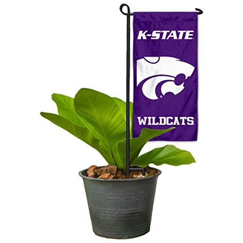 Kansas State Wildcats Mini Garden and Flower Pot Flag Topper