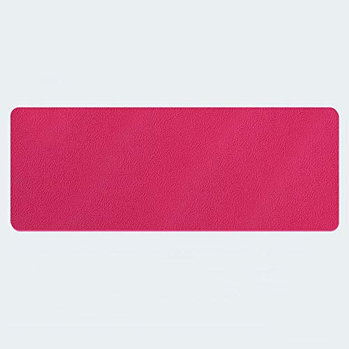 LULIN Yoga Mat Exercise Mat with,Yoga mat Home Floor mat Slip Long Beginner, high Density Tasteless mat, Indoor Outdoor Leisure Fitness mat