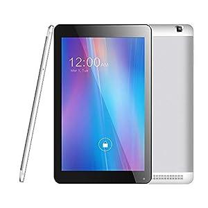 Azpen G1058 10.1″ 4G LTE Unlocked Tablet HD IPS Screen Quad Core 16GB Storage Bluetooth Keyboard Case GPS 2MP & 5MP Camera and 500 MB Free Data (Renewed)