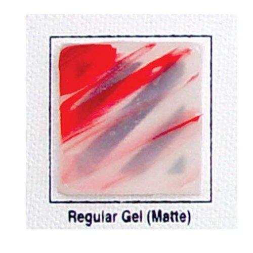 Golden Acryl Med 128 Oz Regular Gel Matte by Golden